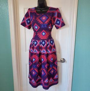 LuLaRoe Amelia Dress XL